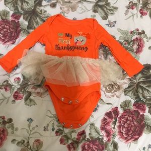 Other - Thanksgiving baby onesie